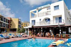 EFI HOTEL APTS 2*, Айя Напа, Кипр