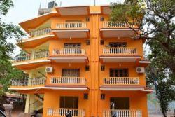 DA ORANGE HOUSE 1*, Север Гоа, Индия
